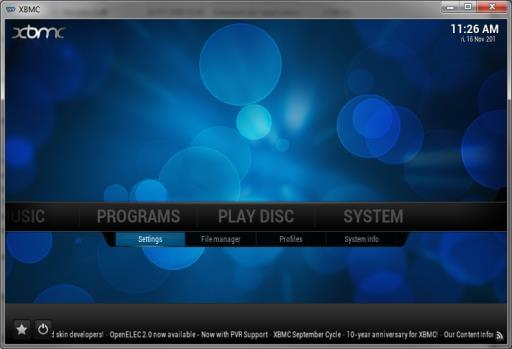 How to configure Kodi for Remote Control access