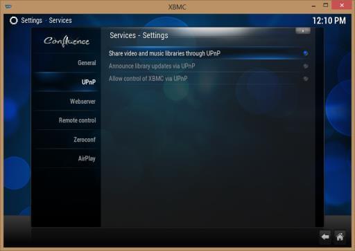 How to configure Kodi for Remote Control access